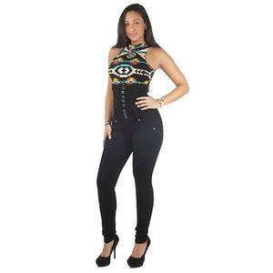 Denim - Columbian design super high waist jean